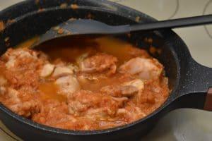 チキンカレーを作る