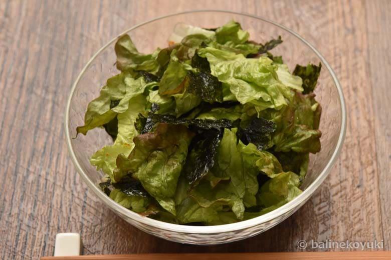 韓国風ピリ辛サラダ